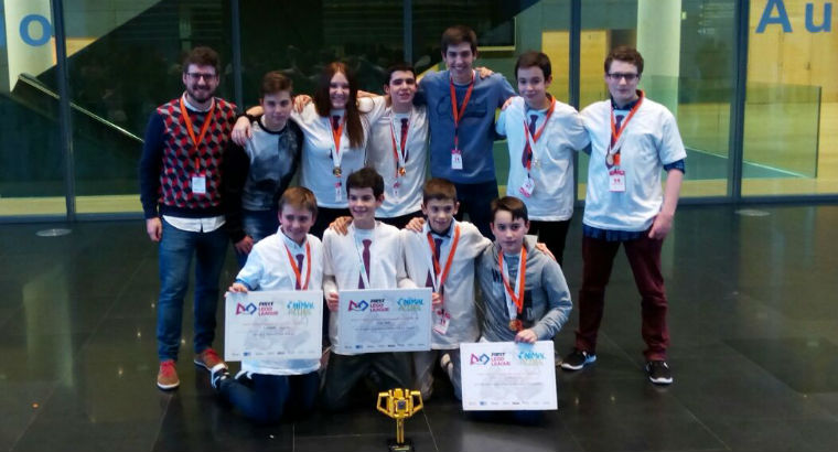 ¡ CAMPEONES FIRST LEGO LEAGUE 2017 !